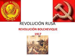REVOLUCI N RUSA