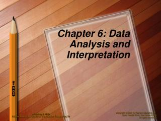 Chapter 6: Data Analysis and Interpretation