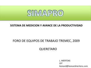 SIMAPRO