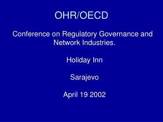 OHR/OECD