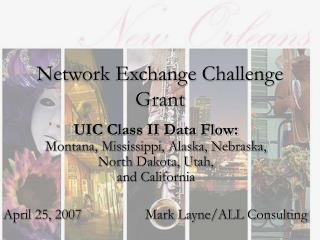 Network Exchange Challenge Grant