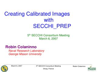 Creating Calibrated Images  with SECCHI_PREP