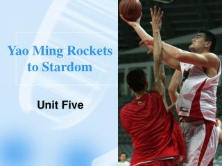 Yao Ming Rockets to Stardom