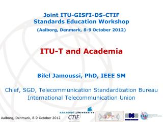 ITU-T and Academia