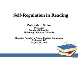 Self-Regulation in Reading