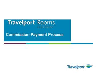 Commission Payment Process