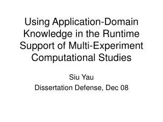 Siu Yau Dissertation Defense, Dec 08
