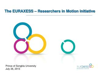 The EURAXESS – Researchers in Motion initiative