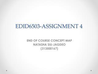 EDID6503-ASSIGNMENT 4