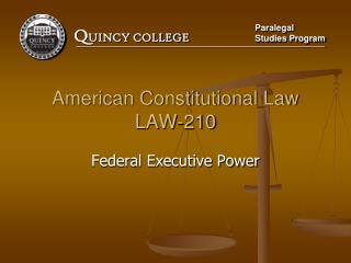 American Constitutional Law LAW-210