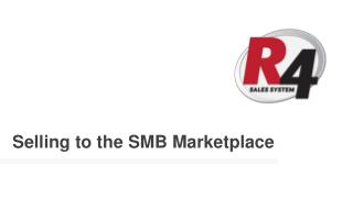 Selling to the SMB Marketplace