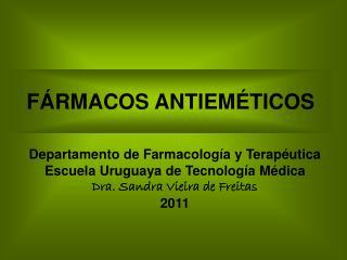 F�RMACOS ANTIEM�TICOS