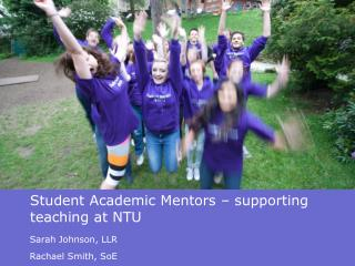 Student Academic Mentors – supporting teaching at NTU