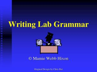 Writing Lab Grammar