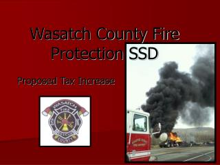 Wasatch County Fire  Protection SSD