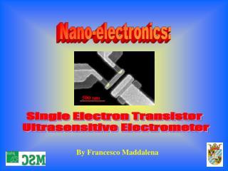 Nano-electronics: