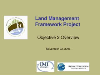 Land Management  Framework Project