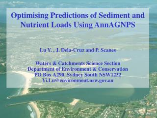 Optimising Predictions of Sediment and Nutrient Loads Using AnnAGNPS