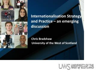 Internationalisation Strategy and Practice – an emerging discussion
