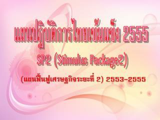 แผนปฏิบัติการไทยเข้มแข็ง 2555