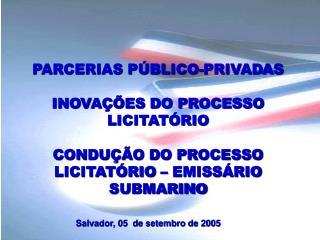 ORIGEM DAS PARCERIAS P BLICO-PRIVADAS