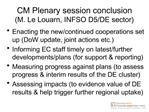 session conclusion
