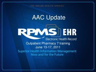 AAC Update