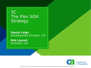 5C The Plex SOA Strategy