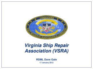Virginia Ship Repair  Association VSRA