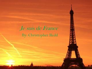 Je suis de France
