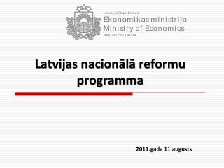 Latvijas nacion?l? reformu programma