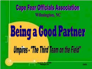 Cape Fear Officials Association
