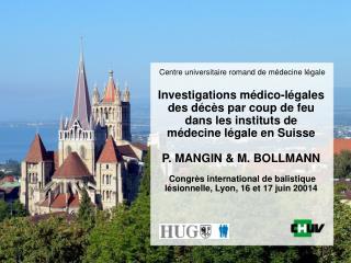Centre universitaire romand de médecine légale