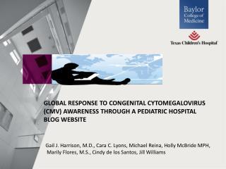Gail J. Harrison, M.D., Cara C. Lyons, Michael Reina, Holly McBride MPH ,