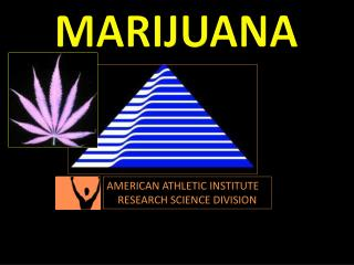 AMERICAN ATHLETIC INSTITUTE RESEARCH SCIENCE DIVISION