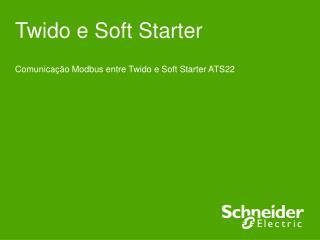 Twido e Soft Starter