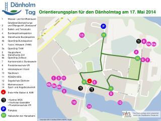 Orientierungsplan für den Dänholmtag am 17. Mai 2014