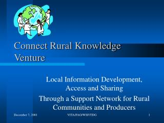Connect Rural Knowledge Venture