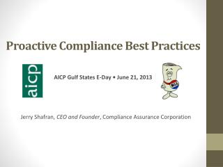 Proactive Compliance Best Practices