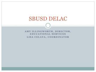 SBUSD DELAC