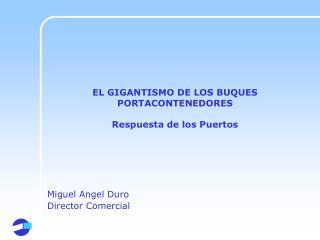 EL GIGANTISMO DE LOS BUQUES PORTACONTENEDORES Respuesta de los Puertos
