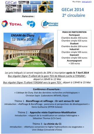 Conférence d'ouverture :  «L'abbaye de Cluny. Etat des dernières recherches archéologiques»