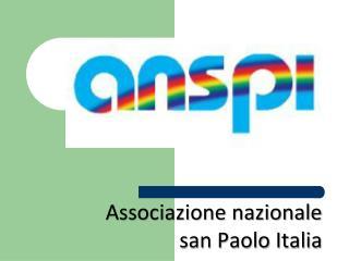 Associazione nazionale  san Paolo Italia