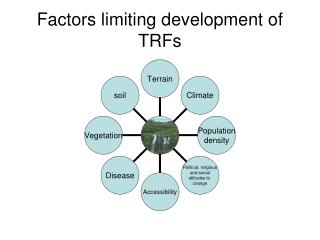Factors limiting development of TRFs