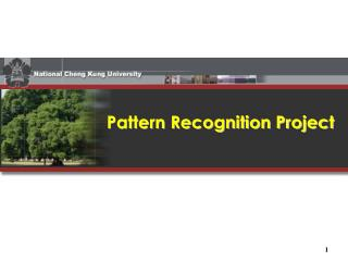 Pattern Recognition Project