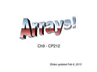 Ch9 -  CP212