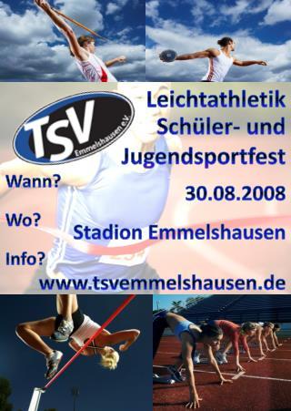 Sch�ler- und Jugendsportfest