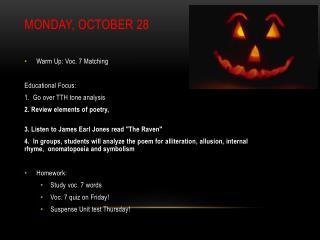 Monday, October 28