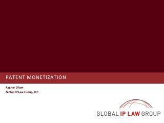 Patent Monetization