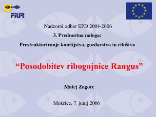 Nadzorni odbor EPD 2004-2006